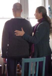 Refia Giving Alexander Technique Lesson Chair
