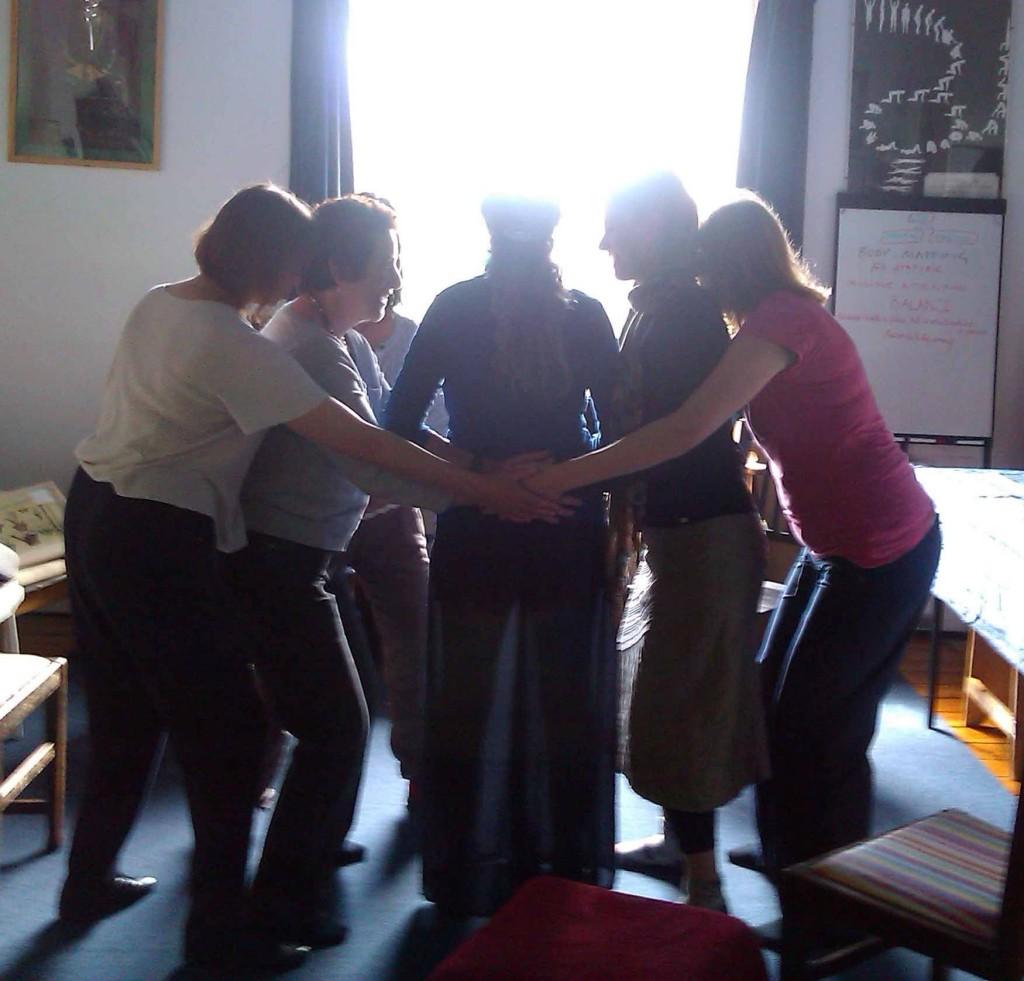 The adoration of St Refia - original